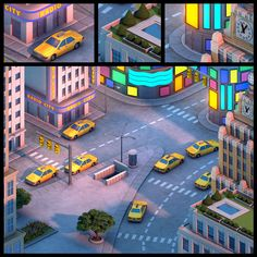I modeled this for a prerendered isometric online game. I created this in Autodesk Maya 8.5. The final lighting, shading and texturing was done by Jeremy Vickery (*jermilex). You can check out his ...