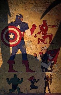 Avengers Egyptian
