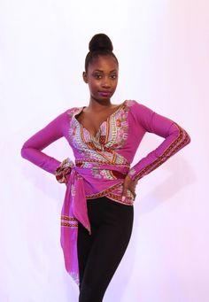 Dashiki top. #Africa #Clothing #Fashion #Ethnic #African #Traditional #Beautiful #Style #Beads #Gele #Kente #Ankara #Africanfashion #Nigerianfashion #Ghanaianfashion #Kenyanfashion #Burundifashion #senegalesefashion #Swahilifashion ~DK