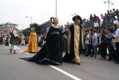 Parade before Palio degli Asini in Alba