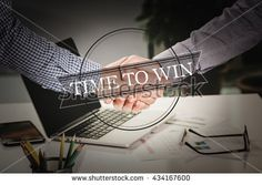 BUSINESS AGREEMENT PARTNERSHIP Time To Win COMMUNICATION CONCEPT
