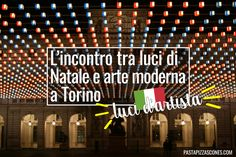 Mappa con elenco di tutte le installazioni Luci d'Artista a Torino