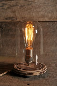 Southern Lights Electric Co. - Bell Jar Lamp