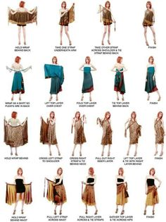 Sarongs have come a long was in fashion and they can be worn beyond the beach front.  With a wide range of fabrics and so many ways to wear a sarong, each affords a completely different appearance.