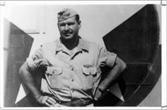 """70 years ago, #Baylor alumnus John """"Killer"""" Kane received the Congressional Medal of Honor for his """"conspicuous gallantry in action"""" during World War II. Click through to read his story. #SicEm // Colonel John Kane, #Baylor University Class of 1928"""