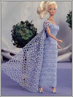 "Платье ""Кристалл"" - Kimberly Club. Одежда для кукол."