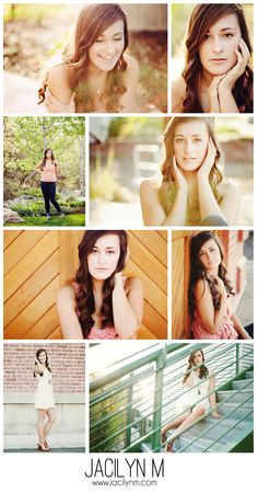 Spring Sunset High School Senior Portrait Photography