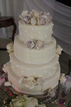 Fondant Wedding Cakes | Fondant wedding Cake with Roses by mcaball... | Cake Decorating Ideas