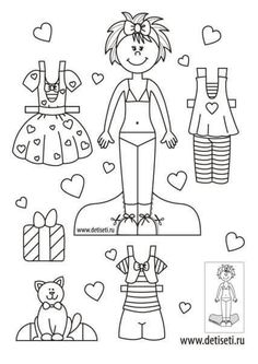 Fun and Free World Children Paper Dolls http://www