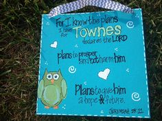 8x8 Bible Verse Canvas by ColorCandyShop on Etsy