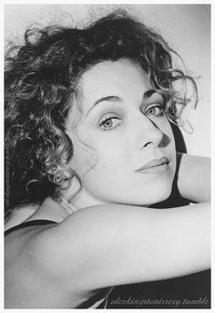 Alex Kingston is flawless! I may have a bit of a girl crush on her! Doctor Who Cast, Samira Wiley, Doctor Who Companions, Nathalie Emmanuel, Alex Kingston, Beautiful People, Beautiful Females, Gorgeous Women, Milla Jovovich