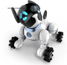 Робот-щенок CHiP — это активная собачка с искусственным интеллектом.  Чтобы управлять собачкой CHiP, нужно загрузить на смартфон специальное приложение. Кроме того, можно давать команды с помощью браслета и шара, которые идут в комплекте.  CHiP 0805 WowWee прекрасно ориентируется в пространстве с помощью датчиков. Собачка очень подвижная и активно передвигается.  http://www.golovastik.ru/product_detail.php?id=3384  #головастик #магазиндетскихигрушек #подарокребенку #подарокдлямальчика…