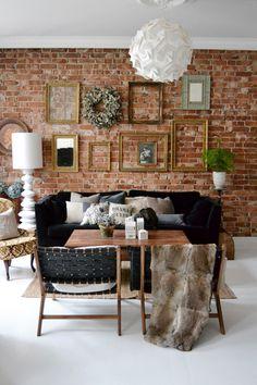 warm+cozy+vintage frames // via Birch + Bird: Keiserens Nye Traer