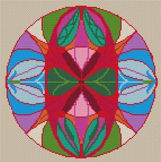 Items similar to Mandala counted cross stitch PDF, Chart Cross stitch pattern PDF Mandala Vagina Modern X-Stitch PDF Colorful Mandala Embroidery Chart on Etsy Counted Cross Stitch Patterns, Cross Stitch Embroidery, Thread Art, Crochet Diagram, Mandala Coloring, Felt Art, Beading Patterns, Needle Felting, Needlework