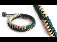 How to Make the Flip Flop Fishtail Mad Max Paracord Bracelet Tutorial - YouTube