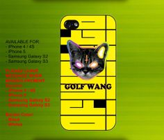 Ofwgkta Golf Wang  case for iPhone 4/4S iPhone 5 Galaxy S2/S3 #iPhonecase #iPhoneCover #3DiPhonecase #3Dcase #S4 #s5 #S5case