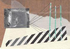 """Saatchi Art Artist Greet Weitenberg; Collage, """"untitled 6"""" #art"""