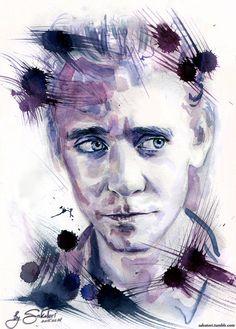 Tom Hiddleston by SakuTori.deviantart.com on @DeviantArt