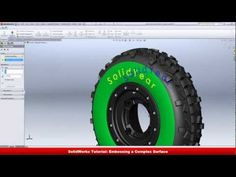 Solidworks Tutorial How to Make Tyre - YouTube