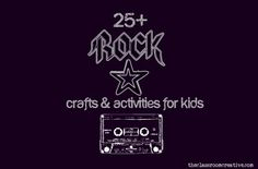 rockstar idea crafts activities for kids birthday camp day