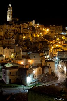 Matera, Basilicata, Italy. Pictures don't even do Matera justice. One of my top 3 favorite places we visited in Italy
