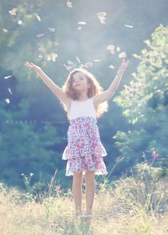 Children are beautiful and the other thing most people envy is that they are totally in THE MOMENT...