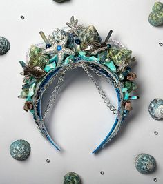 Jo Ann Fabrics Mermaid Crowns Project