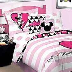 Minnie Mouse Bedroom Set Full Size | Disney Minnie Mouse Single Duvet Set 33 08 Cute Room