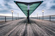 Boscombe Pier ...  Boscombe, Railings, Seafront, architecture, bay, beach, blue, boards, boardwalk, boscombe pier, boscombe spa, bournemouth, chine, cloud, coast, coastal, coastline, dorset, dusk, england, english, horizon, jetty, lamp, landmark, landscape, lighting, ocean, pier, plank, promenade, railing, sea, seascape, seashore, seaside, shelter, shore, shoreline, urban, victorian, walkway, wood, wooden