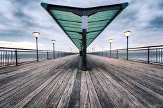 Boscombe Pier ...  Boscombe, Railings, Seafront, architecture, bay, beach, blue, boards, boardwalk, boscombe pier, boscombe spa, bournemouth, chine, cloud, coast, coastal, coastline, dorset, dusk, england, english, horizon, jetty, lamp, landmark, landscape, lighting, ocean, pier, plank, promenade, railing, sea, seascape, seashore, seaside, shelter, shore, shoreline, urban, victorian, walkway, wood, wooden