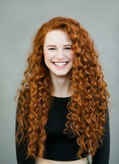"""Fotoprojekt """"Redhead Beauty"""" von Brian Dowling Permed Hairstyles, Curly Hair Styles, Perm Hairstyles"""