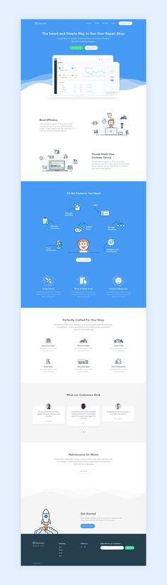 Landing page by iftikhar shaikh