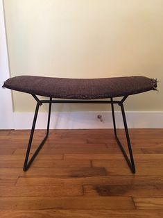Slatted Coffee Table Bench