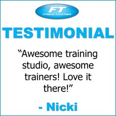 We can't say enough good things about our fantastic members!  Come get your fitness on at Fitness Together in Novi, MI!  Get personal one-on-one-training, a nutrition guideline, and other services that will change your life for the better!  Call (248) 348-9230 or visit our website www.fitnesstogether.com/novi for more information!