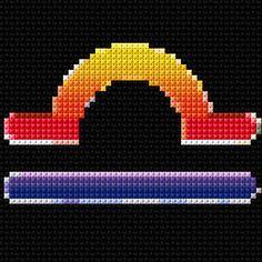Cross Stitch | Libra xstitch Chart | Design