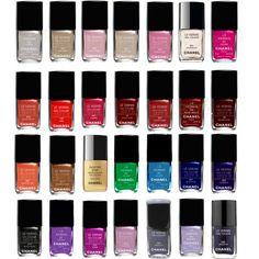 chanel nail polish colors