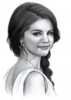 ART :: Selena Gomez Drawing