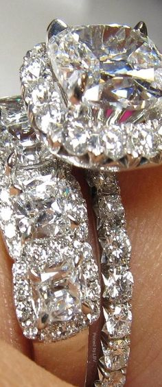 Diamonds are a girls best friend .... Luxurydotcom