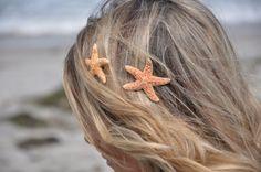 Starfish Hair Clips .. Etsy