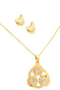 "Joyas de Acero – tagged ""Conjunto (cadena con dije y aretes)"" – Importadora Victoria Gold Necklace, Victoria, Jewels, Chains, Earrings, Jewlery, Gems, Gold Bar Necklace, Victoria Falls"
