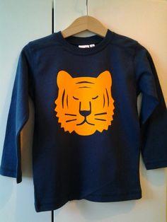 Silhouette tiger shirt