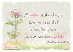Cherish your Mother and the Blessing of Motherhood - Clever Classroom Blog