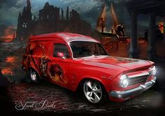 EH Holden Panelvan Australian Muscle Cars, Aussie Muscle Cars, Sexy Cars, Hot Cars, Classic Trucks, Classic Cars, Hq Holden, Big Girl Toys, Girls Driving