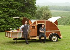 old teardrop trailers | Teardrop trailer for parties