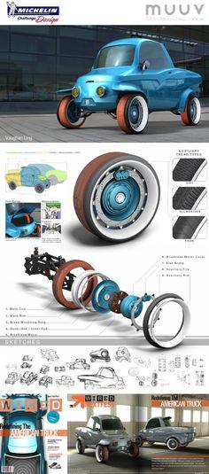 Ideas electric cars concept automobile for 2019 Electric Motor, Electric Cars, Electric Vehicle, Automobile, Pirelli, Mini Car, Car Wheels, Small Cars, Transportation Design
