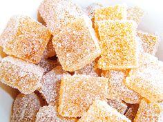 Himmlische Süßigkeiten: Pate de fruits mit Mango