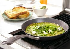 Omelette Recipe, Palak Paneer, Baby Spinach, Sourdough Bread, Cooking Time, Feta, Great Recipes, Fries, Vegetarian