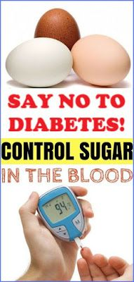 Say No To Diabetes! An Egg Is What You Need To Control Your Blood Sugar! This Is What You Must Do!