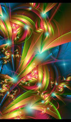 ♥♥ ⊰❁⊱ Autumn Mess by magnusti78. ⊰❁⊱ (fractal art)