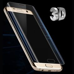 For Samsung Galaxy Note 7 Edge Plus Screen Protector Toughed Pet Film Full Cover (Not Tempered Glass) Curved Round Edge Galaxy S7, Galaxy Note 7, Samsung Galaxy S9, Phone Screen Protector, Tempered Glass Screen Protector, Hd Vision, Panzer, S7 Edge, Peta